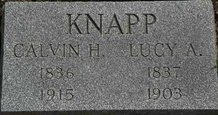 KNAPP, CALVIN H. - Lorain County, Ohio | CALVIN H. KNAPP - Ohio Gravestone Photos