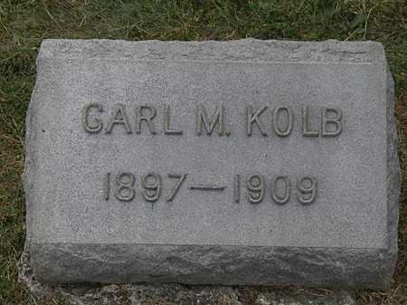 KOLB, CARL M. - Lorain County, Ohio | CARL M. KOLB - Ohio Gravestone Photos