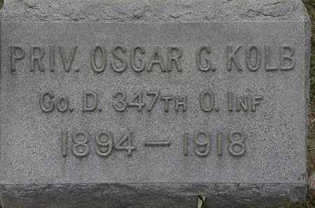 KOLB, OSCAR C. - Lorain County, Ohio   OSCAR C. KOLB - Ohio Gravestone Photos
