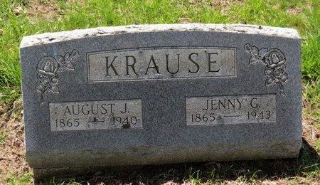 KRAUSE, AUGUST J. - Lorain County, Ohio | AUGUST J. KRAUSE - Ohio Gravestone Photos