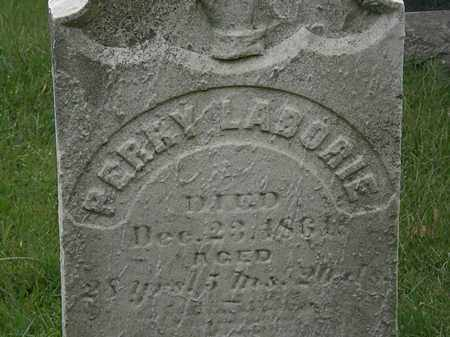 LABORIE, PERRY - Lorain County, Ohio | PERRY LABORIE - Ohio Gravestone Photos