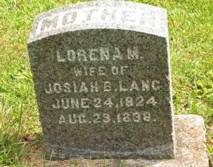 LANG, JOSIAH B. - Lorain County, Ohio   JOSIAH B. LANG - Ohio Gravestone Photos