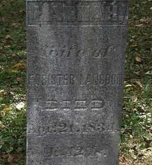 LANGDON, FORISTER - Lorain County, Ohio | FORISTER LANGDON - Ohio Gravestone Photos