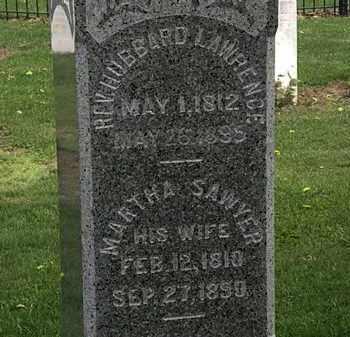 SAWYER LAWRENCE, MARTHA - Lorain County, Ohio | MARTHA SAWYER LAWRENCE - Ohio Gravestone Photos
