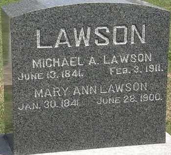 LAWSON, MICHAEL A. - Lorain County, Ohio | MICHAEL A. LAWSON - Ohio Gravestone Photos