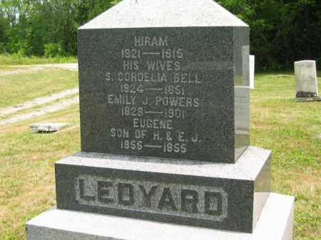 LEDYARD, HIRAM - Lorain County, Ohio   HIRAM LEDYARD - Ohio Gravestone Photos