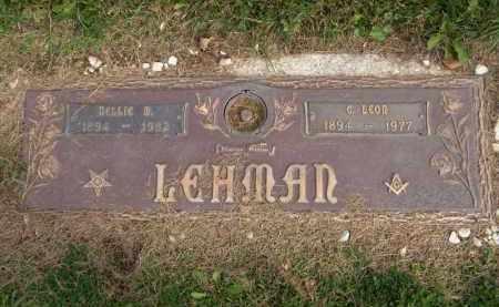 LEHMAN, NELLIE M. - Lorain County, Ohio | NELLIE M. LEHMAN - Ohio Gravestone Photos