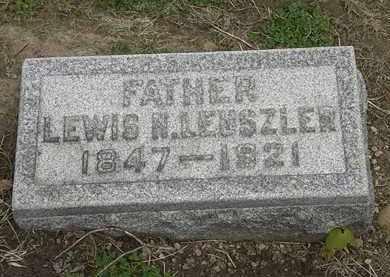 LEUSZLER, LEWIS N. - Lorain County, Ohio | LEWIS N. LEUSZLER - Ohio Gravestone Photos