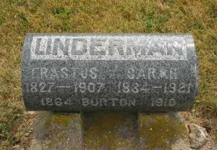 LINDERMAN, ERASTUS - Lorain County, Ohio | ERASTUS LINDERMAN - Ohio Gravestone Photos