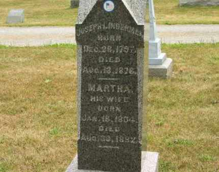 LINDERMAN, MARTHA - Lorain County, Ohio | MARTHA LINDERMAN - Ohio Gravestone Photos