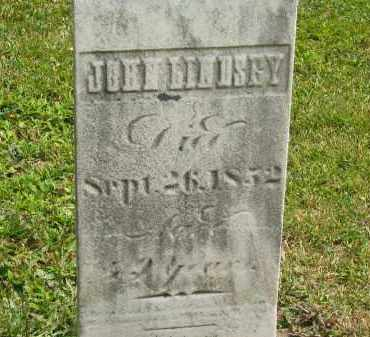 LINDSEY, JOHN - Lorain County, Ohio | JOHN LINDSEY - Ohio Gravestone Photos