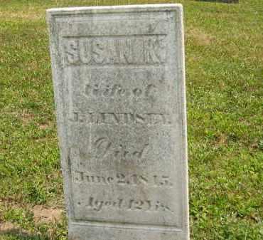 LINDSEY, SUSAN K. - Lorain County, Ohio | SUSAN K. LINDSEY - Ohio Gravestone Photos