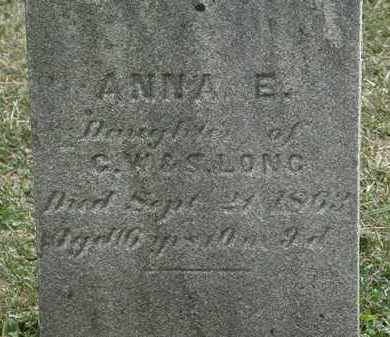 LONG, ANNA E. - Lorain County, Ohio | ANNA E. LONG - Ohio Gravestone Photos