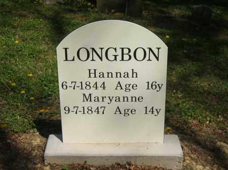 LONGBON, MARYANNE - Lorain County, Ohio | MARYANNE LONGBON - Ohio Gravestone Photos