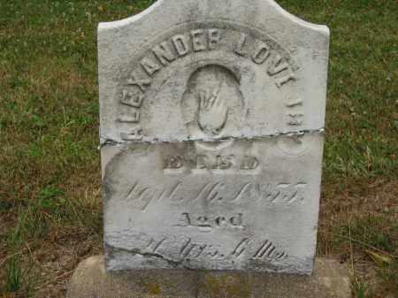 LOVEJOY, ALEXANDER - Lorain County, Ohio | ALEXANDER LOVEJOY - Ohio Gravestone Photos
