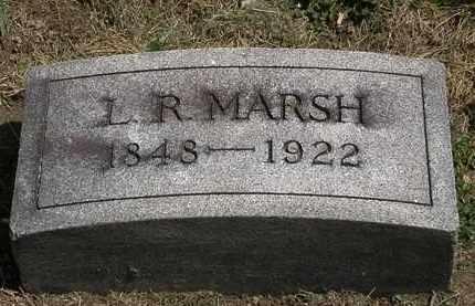 MARSH, L. R. - Lorain County, Ohio   L. R. MARSH - Ohio Gravestone Photos