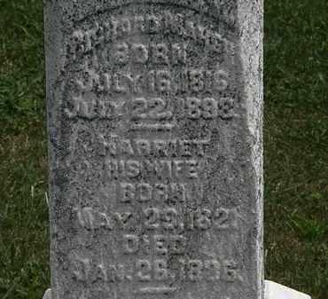MARSH, HARRIET - Lorain County, Ohio | HARRIET MARSH - Ohio Gravestone Photos
