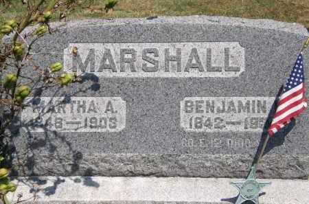 MARSHALL, BENJAMIN - Lorain County, Ohio | BENJAMIN MARSHALL - Ohio Gravestone Photos