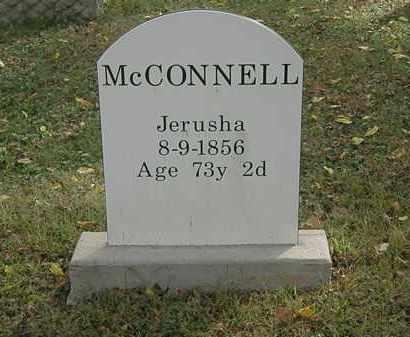 MCCONNELL, JERUSHA - Lorain County, Ohio | JERUSHA MCCONNELL - Ohio Gravestone Photos