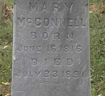 MCCONNELL, MARY - Lorain County, Ohio   MARY MCCONNELL - Ohio Gravestone Photos