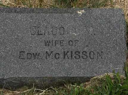 MCKISSON, EDW. - Lorain County, Ohio | EDW. MCKISSON - Ohio Gravestone Photos