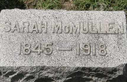 MCMULLEN, SARAH - Lorain County, Ohio | SARAH MCMULLEN - Ohio Gravestone Photos