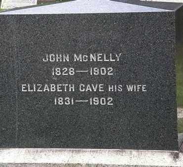 MCNELLY, ELIZABETH - Lorain County, Ohio | ELIZABETH MCNELLY - Ohio Gravestone Photos