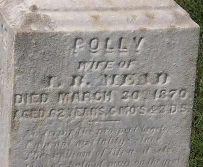 MEAD, POLLY - Lorain County, Ohio | POLLY MEAD - Ohio Gravestone Photos