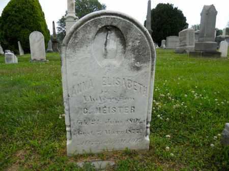 MEISTER, ANNA ELISABETH - Lorain County, Ohio | ANNA ELISABETH MEISTER - Ohio Gravestone Photos