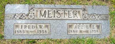 MEISTER, ALLIE E. - Lorain County, Ohio | ALLIE E. MEISTER - Ohio Gravestone Photos
