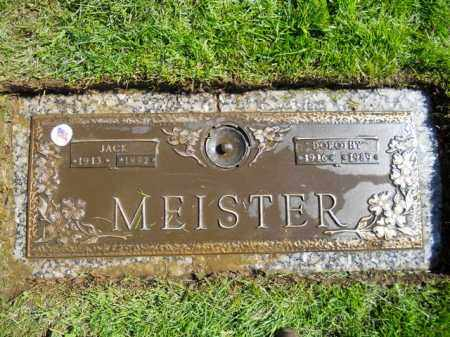 MEISTER, DOROTHY A. - Lorain County, Ohio | DOROTHY A. MEISTER - Ohio Gravestone Photos