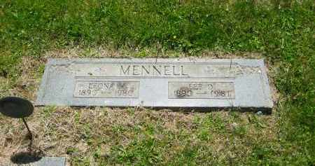 MENNELL, LEE D. - Lorain County, Ohio | LEE D. MENNELL - Ohio Gravestone Photos