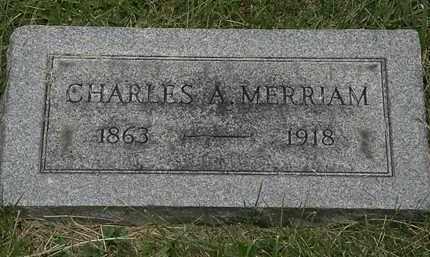 MERRIAM, CHARLES A. - Lorain County, Ohio | CHARLES A. MERRIAM - Ohio Gravestone Photos