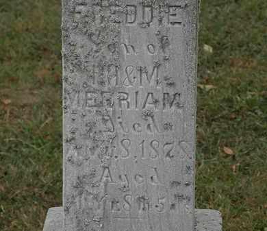 MERRIAM, FREDDIE - Lorain County, Ohio | FREDDIE MERRIAM - Ohio Gravestone Photos