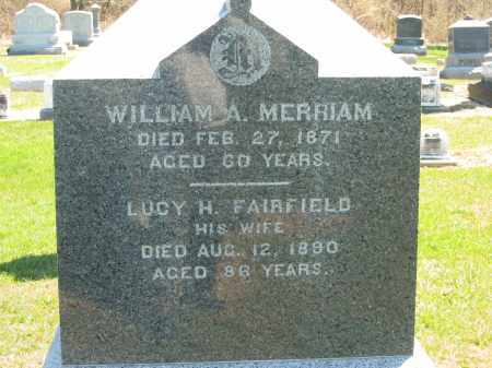 MERRIAM, LUCY H. - Lorain County, Ohio | LUCY H. MERRIAM - Ohio Gravestone Photos