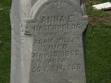 HASENPFLUG MILLER, ANNA E. - Lorain County, Ohio | ANNA E. HASENPFLUG MILLER - Ohio Gravestone Photos