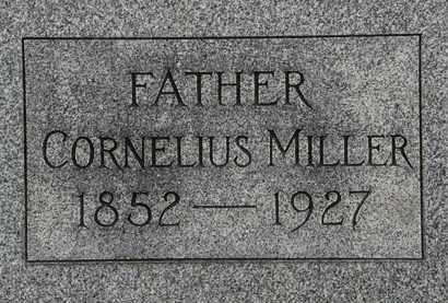 MILLER, CORNELIUS - Lorain County, Ohio   CORNELIUS MILLER - Ohio Gravestone Photos