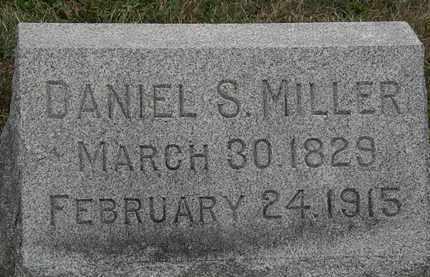 MILLER, DANIEL S. - Lorain County, Ohio | DANIEL S. MILLER - Ohio Gravestone Photos