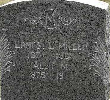 MILLER, ERNEST E. - Lorain County, Ohio   ERNEST E. MILLER - Ohio Gravestone Photos