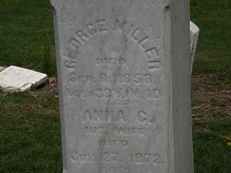 MILLER, GEORGE - Lorain County, Ohio | GEORGE MILLER - Ohio Gravestone Photos