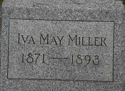 MILLER, IVA MAY - Lorain County, Ohio | IVA MAY MILLER - Ohio Gravestone Photos