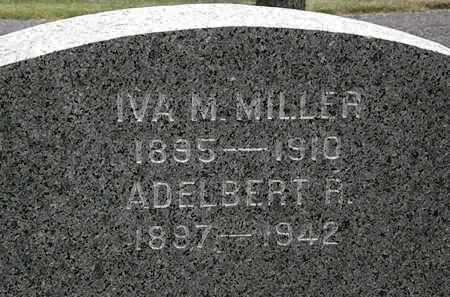 MILLER, ADELBERT R. - Lorain County, Ohio | ADELBERT R. MILLER - Ohio Gravestone Photos