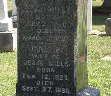 MILLS, JESSE - Lorain County, Ohio | JESSE MILLS - Ohio Gravestone Photos