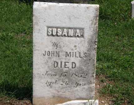 MILLS, SUSAN A. - Lorain County, Ohio | SUSAN A. MILLS - Ohio Gravestone Photos