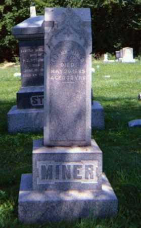 MINER, FRANK - Lorain County, Ohio | FRANK MINER - Ohio Gravestone Photos