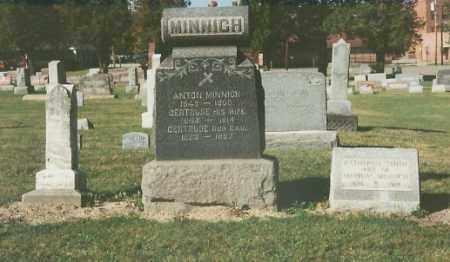 MINNICH, ANTON - Lorain County, Ohio | ANTON MINNICH - Ohio Gravestone Photos