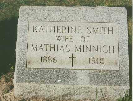 SMITH MINNICH, KATHERINE - Lorain County, Ohio   KATHERINE SMITH MINNICH - Ohio Gravestone Photos