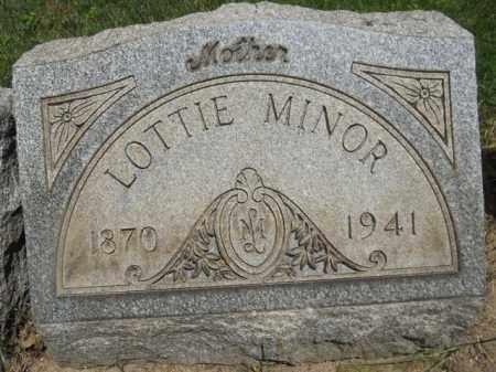 MILLER MINOR, LOTTIE - Lorain County, Ohio | LOTTIE MILLER MINOR - Ohio Gravestone Photos