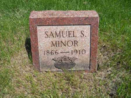 MINOR, SAMUEL S. - Lorain County, Ohio | SAMUEL S. MINOR - Ohio Gravestone Photos
