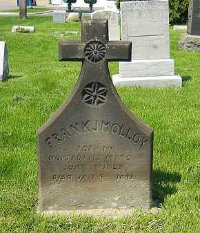 MOLLOY, FRANK J. - Lorain County, Ohio | FRANK J. MOLLOY - Ohio Gravestone Photos